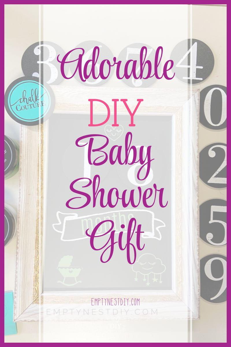 easy diy baby gift