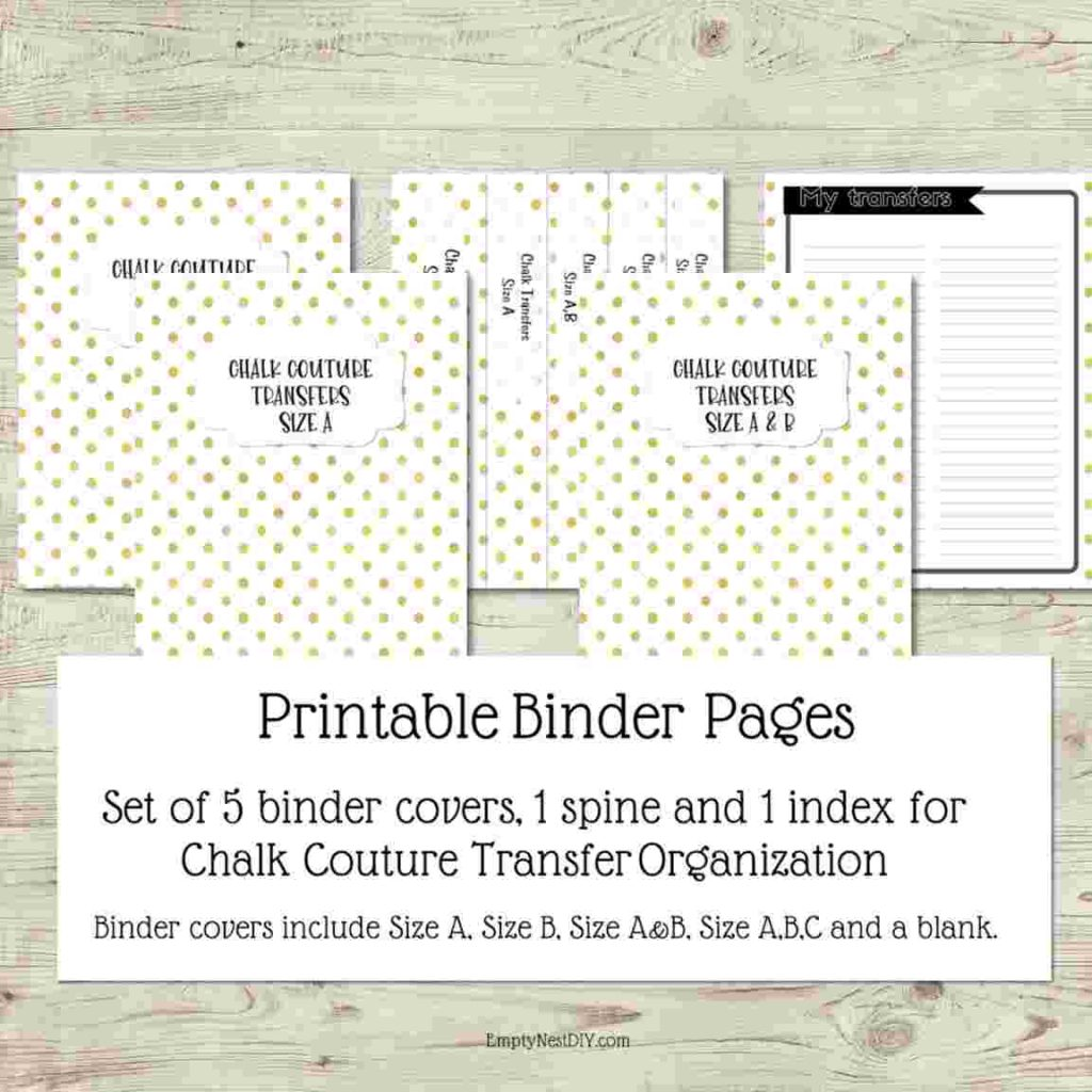 binder cover printable