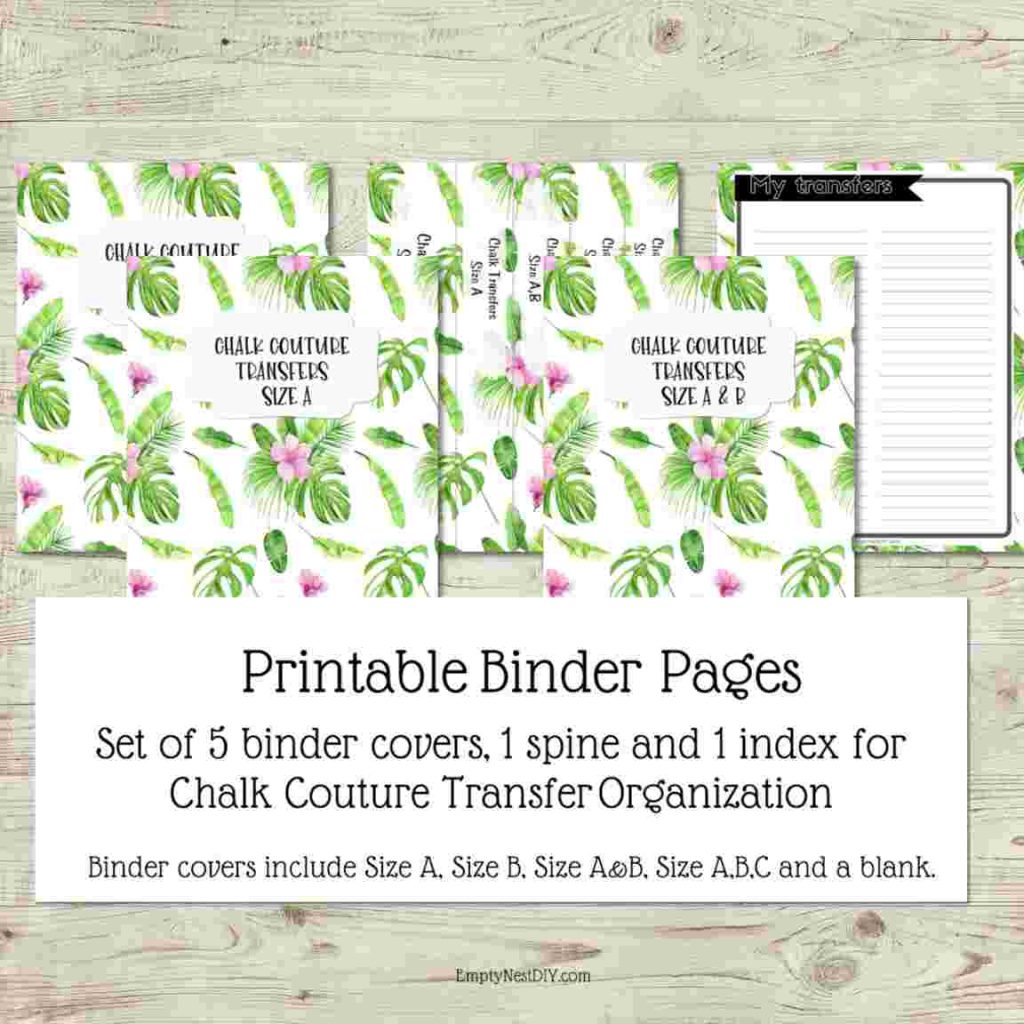 printable binder inserts for notebook