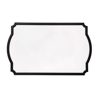 white chalkboard with black frame from chalk couture