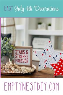 patriotic july 4th decorations ideas using chalk couture
