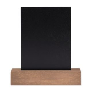 small chalkboard with base from chalk couture